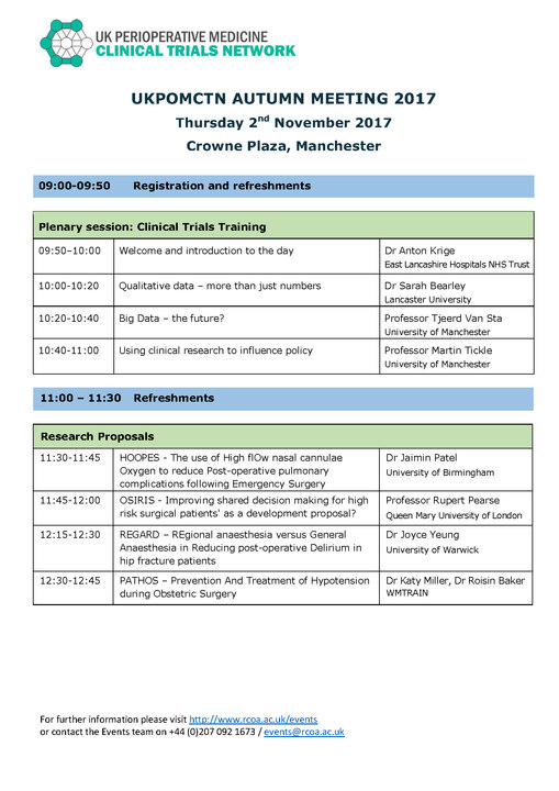 POMCTN Nov 2017 Meeting Programme (1)